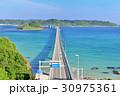 角島大橋 夏 風景の写真 30975361