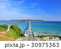角島大橋 夏 風景の写真 30975363