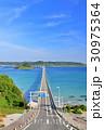 角島大橋 夏 風景の写真 30975364