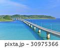 角島大橋 夏 海の写真 30975366