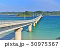 角島大橋 夏 海の写真 30975367