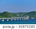 角島大橋 夏 風景の写真 30975385