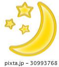 月と星 30993768