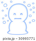 雪だるま 30993771