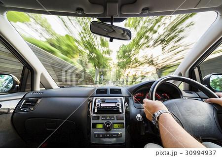 運転席からの風景 30994937