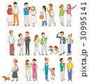 人々 バリエーション 若いのイラスト 30995141