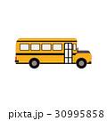 バス 交通 乗り物のイラスト 30995858