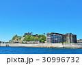 青空 廃墟 軍艦島の写真 30996732