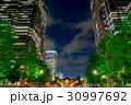 【東京都】夜の都市風景 30997692