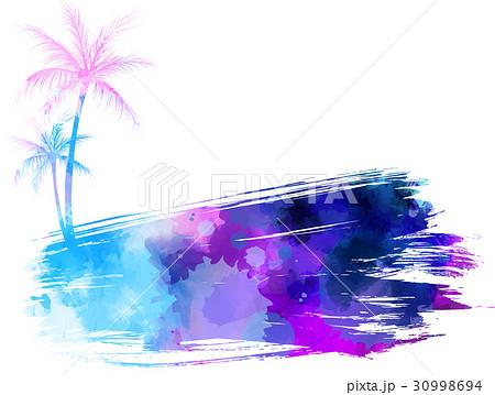 Abstract watercolor bannerのイラスト素材 [30998694] - PIXTA