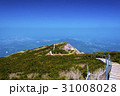 大山 山頂 山岳の写真 31008028