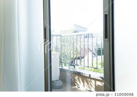 窓 ベランダ サッシ ガラス 出入り口 リビング 31009098
