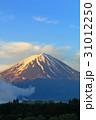 富士山 朝焼け 山の写真 31012250