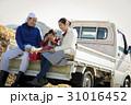 田舎暮らし ランチを食べる家族 31016452