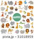 動物 マンガ セットのイラスト 31018959