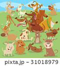 犬 群れ マンガのイラスト 31018979