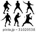 卓球シルエット 31020538