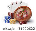 ルーレット カジノ カジノののイラスト 31020622