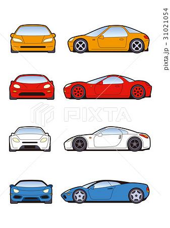 スポーツカー素材、アイコン、レーシングカー素材 31021054