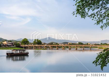京都 渡月橋 31021432