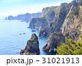 三陸復興国定公園 岩手県北山崎 断崖絶壁の風景 31021913