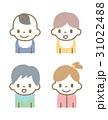 赤ちゃん セット 人物のイラスト 31022488