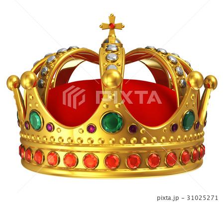 Golden royal crown 31025271