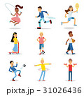スポーツ 運動 ベクトルのイラスト 31026436
