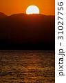 浜名湖の夕日 31027756
