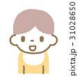 ベビー 人物 上半身のイラスト 31028650