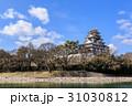 岡山城 烏城 金烏城の写真 31030812