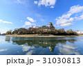 岡山城 烏城 金烏城の写真 31030813