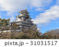 岡山城 城 烏城の写真 31031517