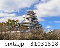 岡山城 城 烏城の写真 31031518