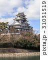 岡山城 -川面に映える漆黒の城- 31031519