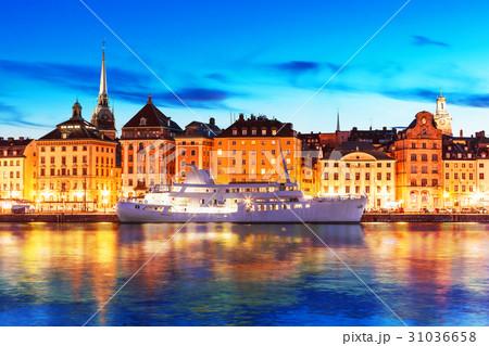 Evening scenery of Stockholm, Sweden 31036658