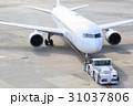 飛行機 出発 旅客機の写真 31037806