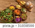 サラダいろいろ  Various vegetable salads 31038500