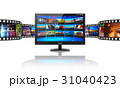 TV テレビ コンセプトのイラスト 31040423