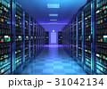 サーバー データセンター 空間のイラスト 31042134