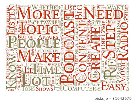 Text Background Word Cloud Conceptのイラスト素材 [31042670] - PIXTA
