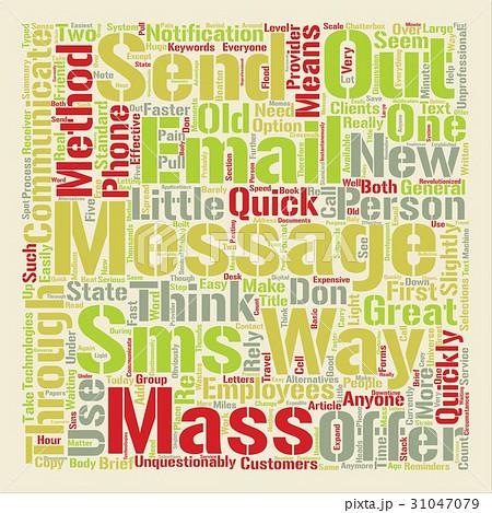 Text Background Word Cloud Conceptのイラスト素材 [31047079] - PIXTA