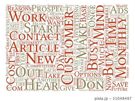 Text Background Word Cloud Conceptのイラスト素材 [31048497] - PIXTA