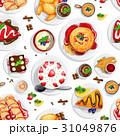 デザート イチゴ ブレックファーストのイラスト 31049876
