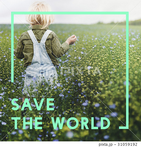 Save Earth Planet World Conceptの写真素材 [31059192] - PIXTA