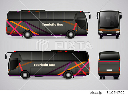Touristic Bus From All Sides 31064702
