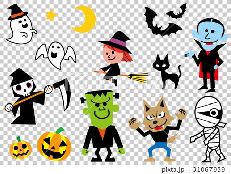 ハロウィンを彩るキャラクター 31067939