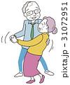 ダンスをする高齢者 31072951
