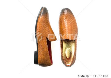 Brown leather shoesの写真素材 [31087168] - PIXTA