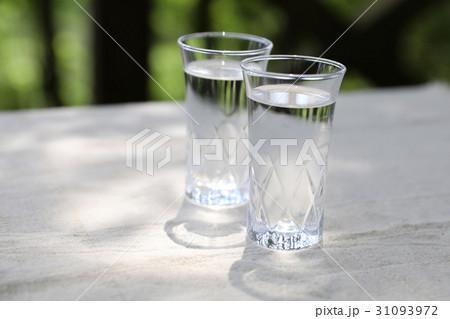 水 グラスの写真素材 [31093972] - PIXTA